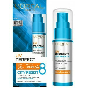L'Oreal Paris UV Perfect City Resist 8