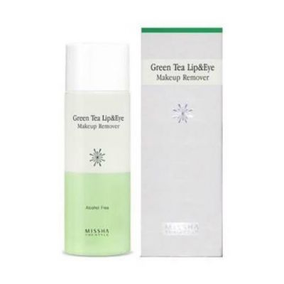 Missha The Style Green Tea Lip&Eye Makeup Remover