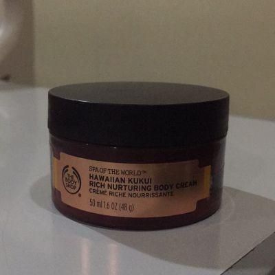 The Body Shop Spa of The World Hawaiian Kukui Rich Nurturing Body Cream