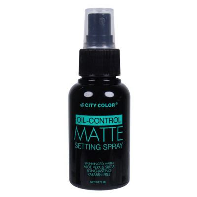 City Color Oil Control Matte Setting Spray