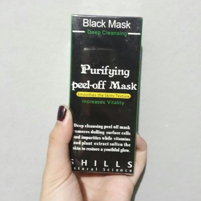 SHILLS SHILLS BLACK MASK
