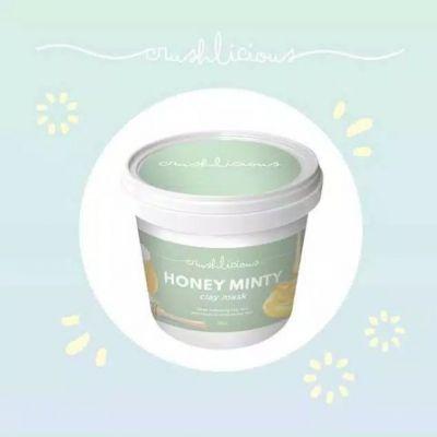 honey minty clay mask
