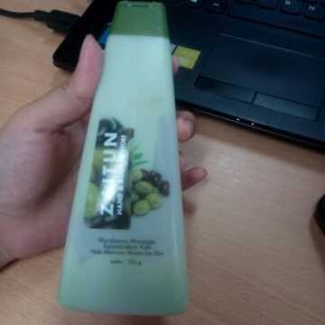 Mustika Ratu Hand & Body Lotion