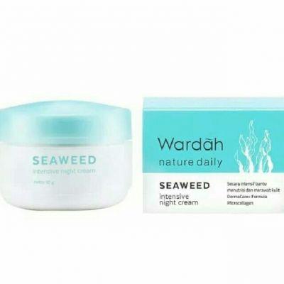Wardah wardah seaweed intensive night cream