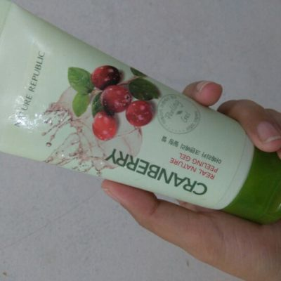 Nature Republic cranberry real nature peeling gel