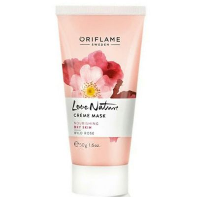 Oriflame love nature creme mask