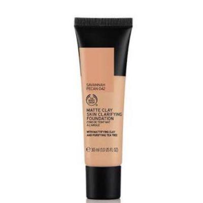 The Body Shop Matte Clay Skin Clarifyin Foundation