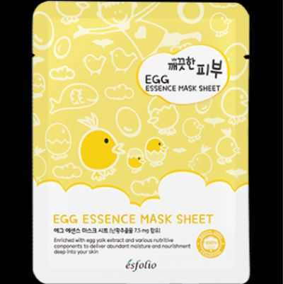 Esfolio Egg Essence Mask Sheet
