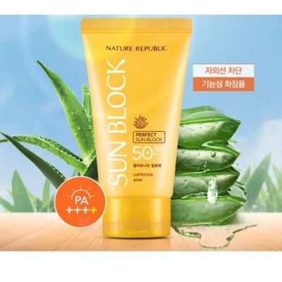 Nature Republic Perfect Sun Block SPF50+ PA++++