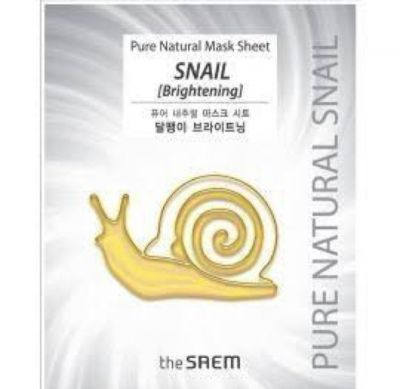 the SAEM Pure Natural Mask Sheet