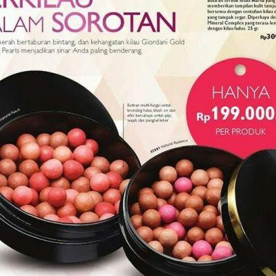 Oriflame giordani gold bronzing pasarls