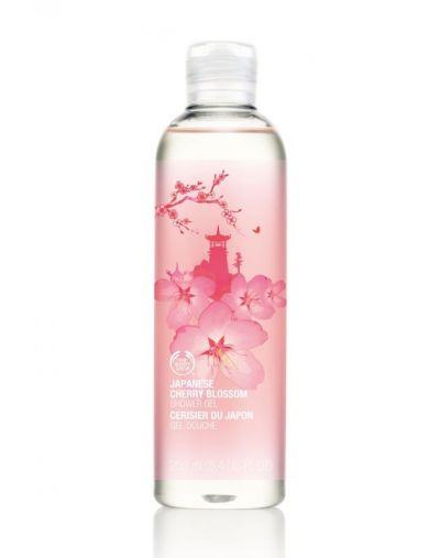 The Body Shop Japanese Cherry Blossom Shower Gel