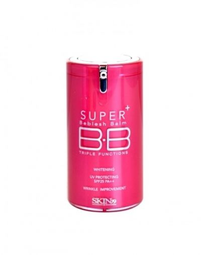 Skin79 Super Plus Beblesh Balm Triple Functions  Hot Pink SPF 25