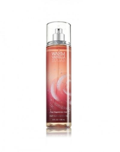 Bath and Body Works Warm Vanilla Sugar Fine Fragrance Mist
