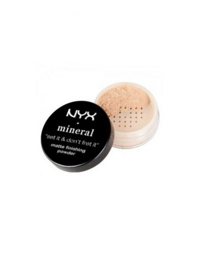 NYX Mineral Set It And Dont Fret It Matte Loose Powder