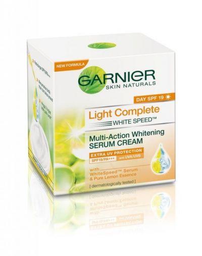 Light Complete Multi-Action Whitening Serum Cream Extra UV Protection