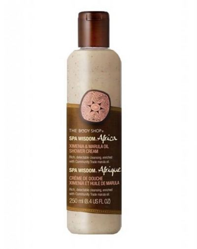 The Body Shop Africa Ximenia & Marula Shower Cream