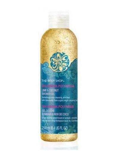 The Body Shop Polynesia Lime & Coconut Shower Gel