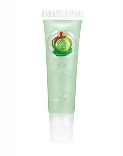The Body Shop Glazed Apple Lip Gloss