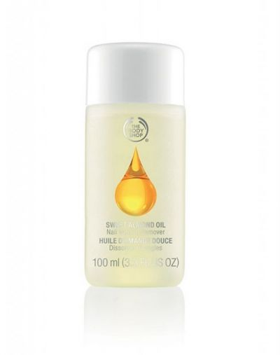 The Body Shop Sweet Almond Oil Nail Polish Remover