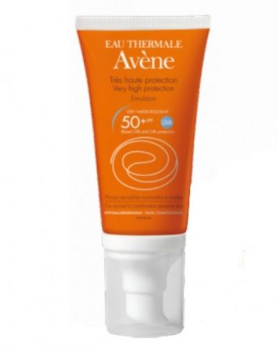 Avene Eau Thermale Very High Protection Emulsion SPF50+