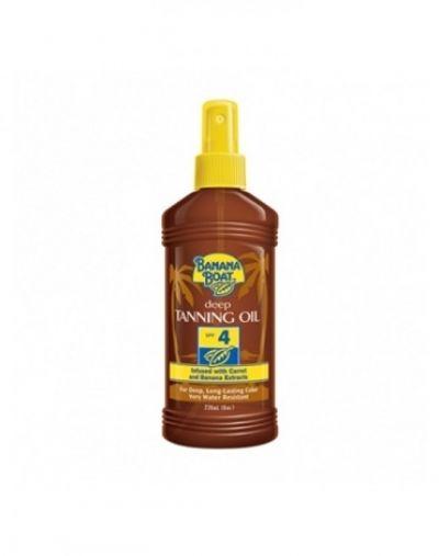 Banana Boat Deep Tanning Oil SPF 4