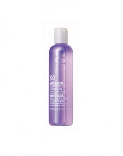 The Body Shop White Musk Sumptous Silk Body Shower Gel