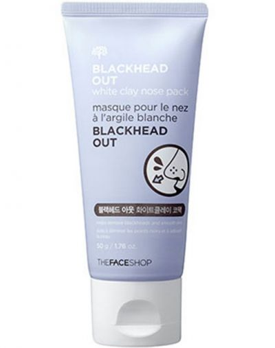 The Face Shop Blackhead Out White Clay Nose Pack