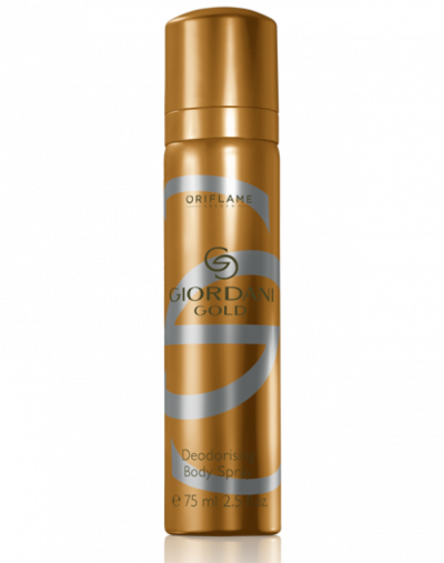 Oriflame Giordani Gold Deodorising Body Spray