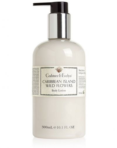 Crabtree and Evelyn Caribbean Island Wild Flowers Body Lotion