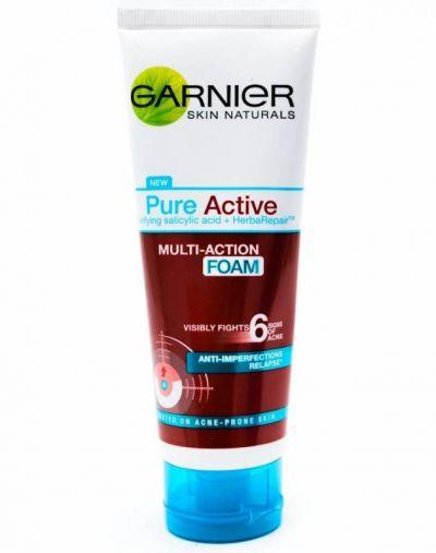 Garnier Pure Active Multi Action Foam