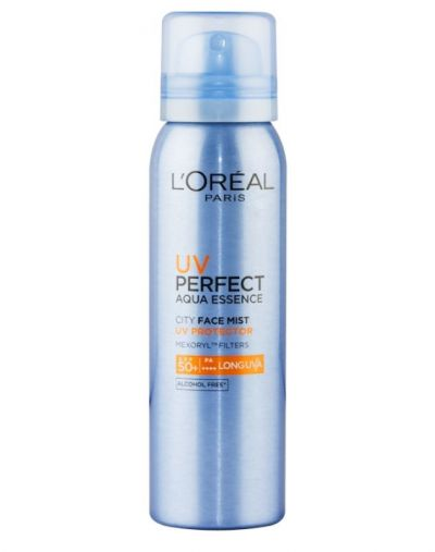 UV PERFECT AQUA ESSENCE CITY FACE MIST SPF50+ | PA++++