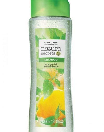 Oriflame Nature Secrets Shampoo for Greasy Hair Nettle & Lemon