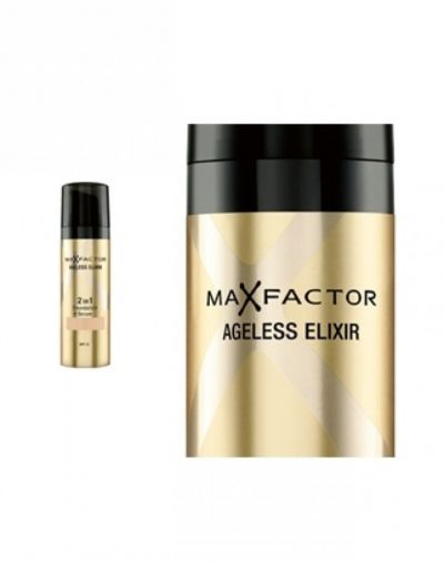 Max Factor Ageless Elixir 2 in 1 Foundation and Serum