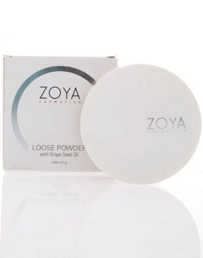 Loose Powder with Grape Seed Oil