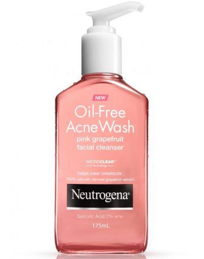 neutrogena oilfree acne wash beauty product cosmetics