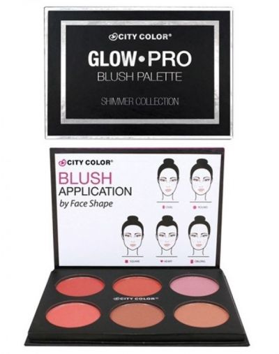 City Color Glow-Pro Blush Palette