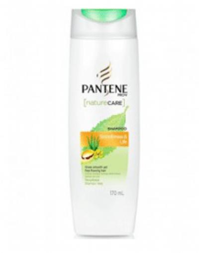 Pantene Nature care smoothness and life shampoo