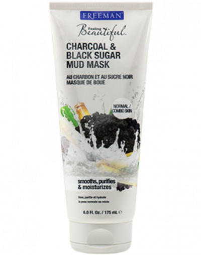 Feeling Beautiful Charcoal & Black Sugar Mud Mask