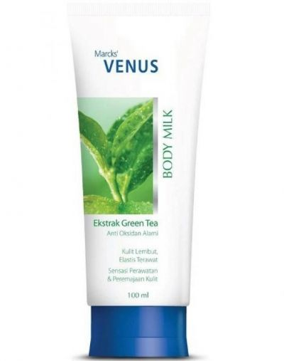 Marcks Venus Body Milk Ekstrak Green Tea
