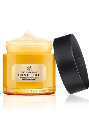 Oils of Life Intensely Revitalizing Sleeping Cream