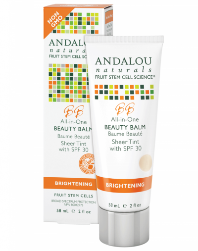 Andalou Naturals All-in-One Beauty Balm Sheer Tint with SPF 30