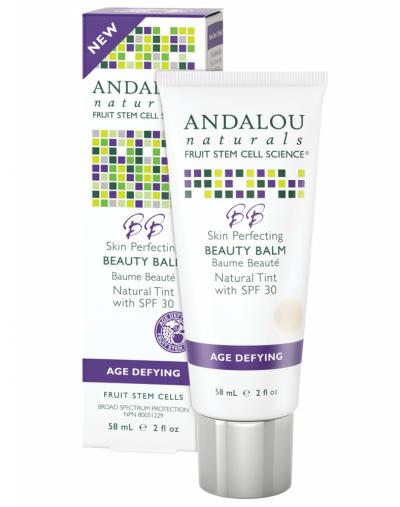Andalou Naturals Skin Perfecting Beauty Balm Natural Tint with SPF 30