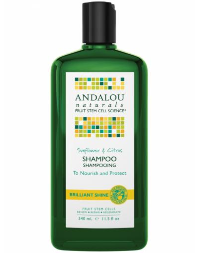 Andalou Naturals Sunflower & Citrus Brilliant Shine Shampoo