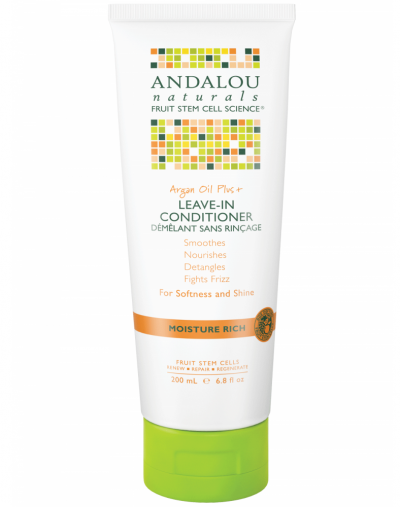 Andalou Naturals Argan Oil Plus Moisture Rich Leave-In Conditioner