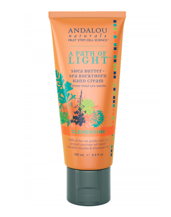 Andalou Naturals A Path of Light Clementine Hand Cream