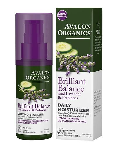 Avalon Organics Daily Moisturizer, Lavender Luminosity