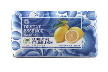 Desert Essence Exfoliating Lemon Soap Bar