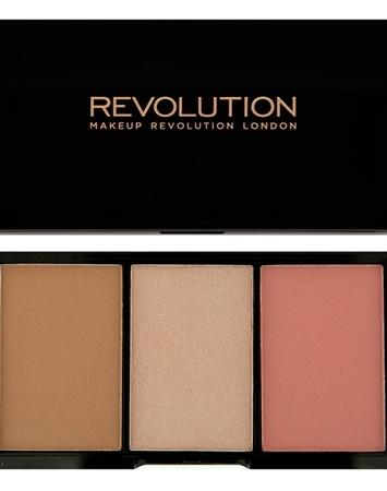 Makeup Revolution Iconic Pro Blush, Bronze and Brighten Flush