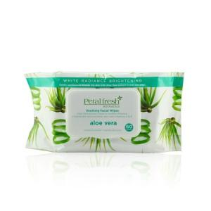 White Radiance Brightening Aloe Vera Moisturizing Facial Cleansing Wipes